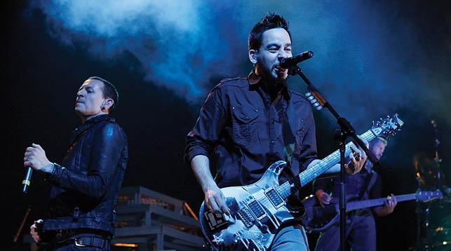 LINKIN PARK LIVE FROM MADISON SQUARE GARDEN DI TV2